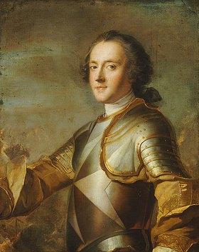 Jean Marc Nattier: Bildnis von Jean-Philippe d'Orléans, Grand Prieur de France (1702-1748)