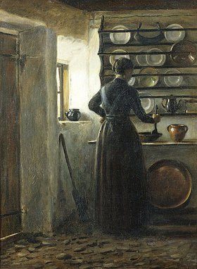 Peter Ilsted: In der Küche