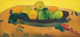 Paul Gauguin: Stillleben mit Früchten und Peperoni