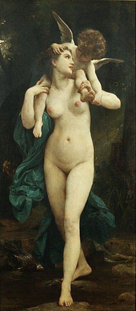 William Adolphe Bouguereau: Venus und Amor