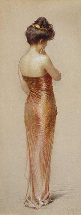 Gaston Bouy: Im roten Kleid