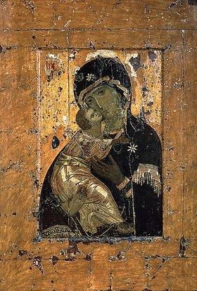 byzantinisch Ikone: Die Gottesmutter von Wladimir