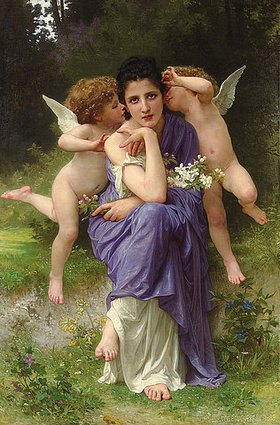 William Adolphe Bouguereau: Frühlingsmelodie