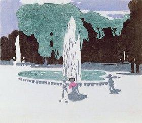 Wassily Kandinsky: Im Park von Saint-Cloud