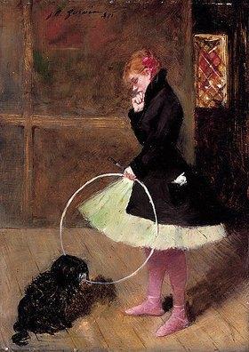 Jean Louis Forain: Die Tänzerin mit dem Reifen