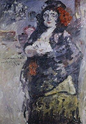 Lovis Corinth: Carmencita (Bildnis Charlotte Berend-Corinth in spanischer Tracht)