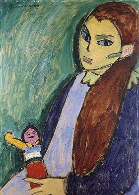 Alexej von Jawlensky: Mädchen mit Puppe