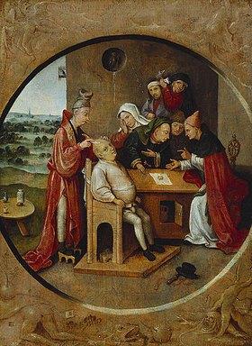 Hieronymus Bosch: Die Operation am Schädel