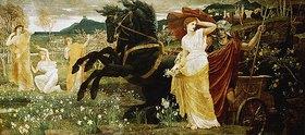 Walter Crane: Der Raub der Persephone