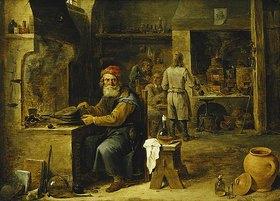 David Teniers: Der Alchimist
