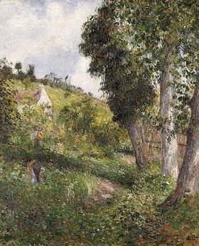 Camille Pissarro: Landschaft mit Gemüsefeld bei Pontoise