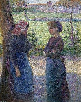 Camille Pissarro: Die Unterhaltung