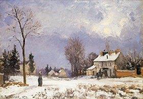 Camille Pissarro: Die Straße von Versailles nach Saint-Germain, Louveciennes
