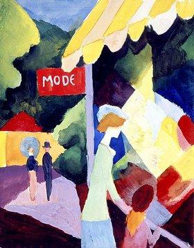August Macke: Modefenster