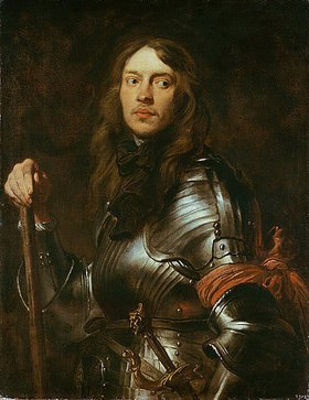 Anthonis van Dyck: Bildnis eines Geharnischten mit roter Armbinde