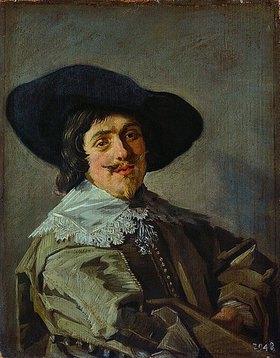 Frans Hals: Bildnis eines jungen Mannes in gelbgrauem Rock