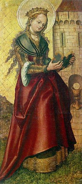 Lucas Cranach d.Ä.: Die heilige Barbara