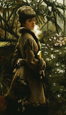 James Jacques Tissot: Im Wintergarten