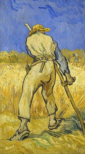 Vincent van Gogh: Der Schnitter. September