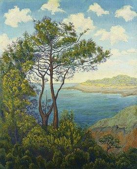 Paul Ranson: Bretonische Küste (Bord de mer en Bretagne)