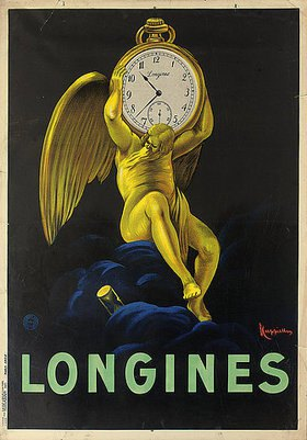Leonetto Cappiello: Longines. 1922 (gedruckt bei Vercasson, Paris)