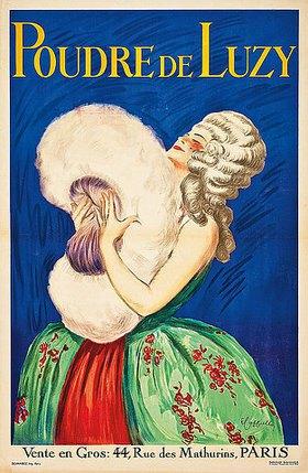 Leonetto Cappiello: Poudre de Luzy. (gedruckt bei Devambez, Paris)