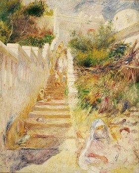 Auguste Renoir: Treppe in Algiers (L'Escalier, Algiers)