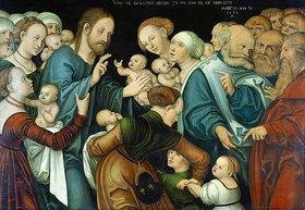 Lucas Cranach d.Ä.: Die Segnung der Kinder. Weimar