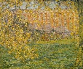 Henri Le Sidaner: Hampton Court im Herbst (Automne, Hampton Court)