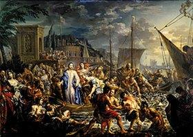 Johann Georg Platzer: Der wunderbare Fischzug Jesu
