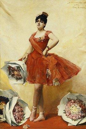 Léon François Comerre: Eine Balletttänzerin