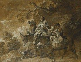Thomas Gainsborough: Eine Bauernfamilie geht zum Markt