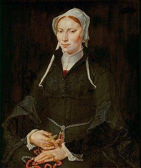 Maerten van Heemskerck: Bildnis einer unbekannten Frau