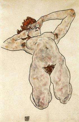 Egon Schiele: Liegende Nackte