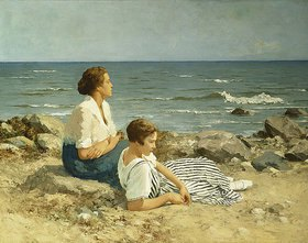 Hermann Seeger: Am Strand
