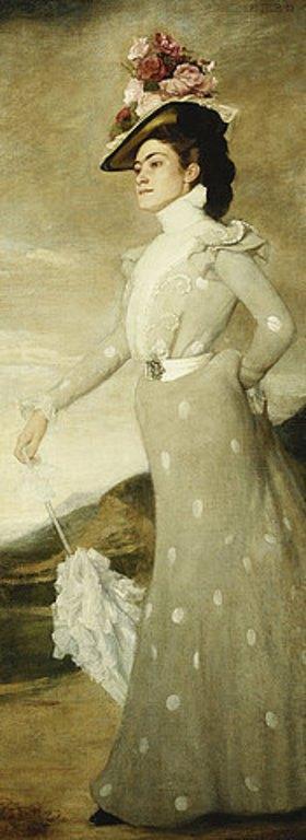 Adolf Heller: Bildnis einer Dame