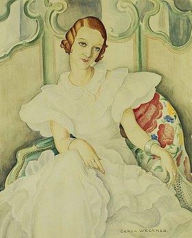 Gerda Wegener: Portrait einer Dame