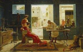 Ettore Forti: Beim Antikhändler in Pompeij (Dall'Antiquario Pompei)