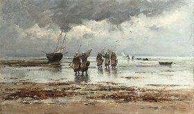 Emile-Louis Vernier: Muschelfischer