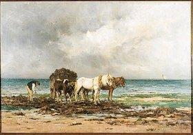 Emile-Louis Vernier: Der Algensammler (Le Ramasseur de Goémons)