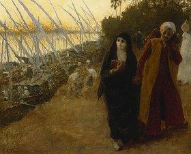 Edwin Lord Weeks: Am Ufer des Nils