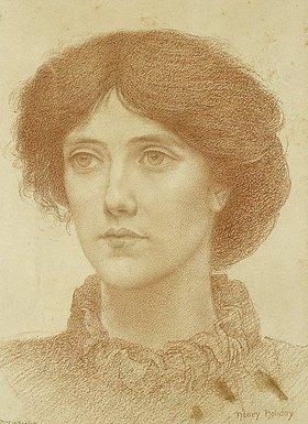 Henry Holiday: Bildnis Mrs. Wheeler