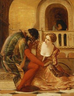 James Clarke Hook: Othellos erster Verdacht