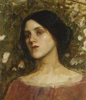 John William Waterhouse: In der Rosenlaube