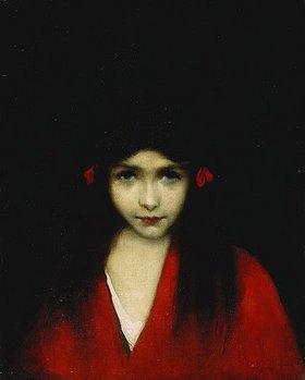 Jean-Jacques Henner: Porträt eines Mädchens
