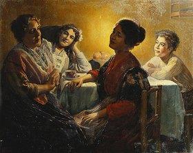 V. P. Casorati: Abendliche Unterhaltung
