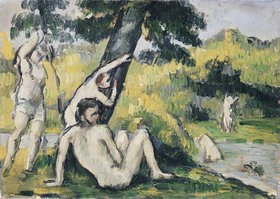 Paul Cézanne: Der Badeplatz