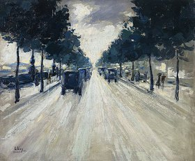 Lesser Ury: Straße in London