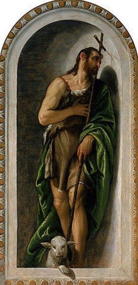 Paolo (Paolo Caliari) Veronese: Johannes der Täufer