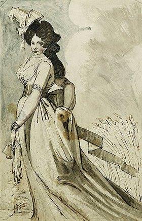 Johann Heinrich Füssli: Eine Dame